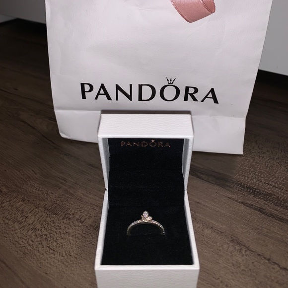 Pandora Bedazzled Butterfly Ring